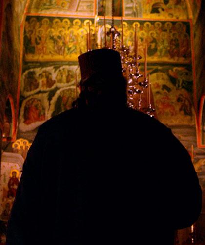 Monk in Meteora