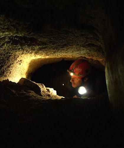 Exploring underground
